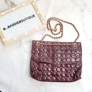 Rebecca Minkoff quilted stud purse